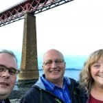 Me, Jim and Mary in South Queensferry