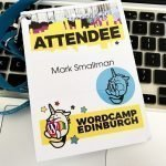 WordCamp Edinburgh Name Badge